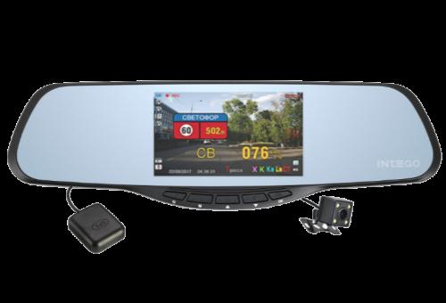 Intego VX-685MR (3 в 1) видеорегистратор с радар-детектором и GPS