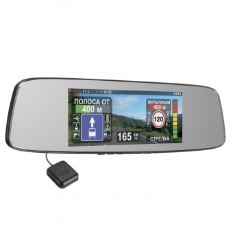 Intego VX-800MR (3 в 1) Видеорегистратор, радар-детектор и GPS модуль