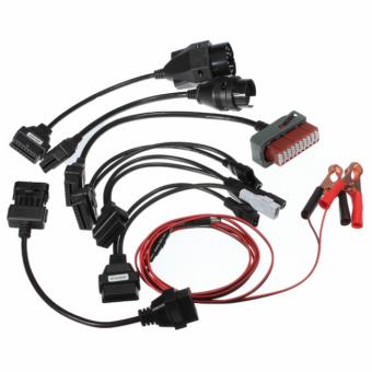 Комплект переходников для легковых авто (для Autocom и Delphi)