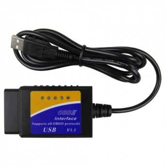 Диагностический сканер-адаптер ELM327 V1.5 USB